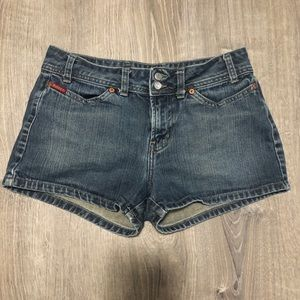 Guess denim shorts - size 28
